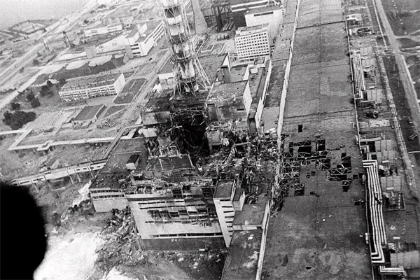 POWER PLANT AFTER DISASTER