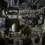 Diesel engine surviving system in bunker under Kiev